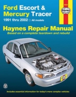 Haynes Ford Escort & Mercury Tracer 1991 Thru 2002
