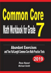 Common Core Math Workbook for Grade 7