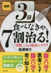 圖解3日食べなきゃ,7割治る! 「空腹」こそが最高のクスリ