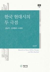 한국 현대시의 두 극점
