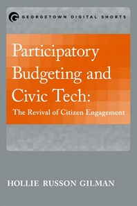Participatory Budgeting and Civic Tech