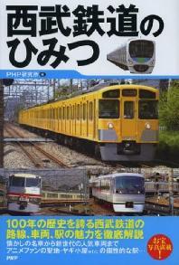 西武鐵道のひみつ