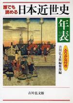 誰でも讀める日本近世史年表 ふりがな付き