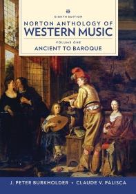 Norton Anthology of Western Music Vol. 1