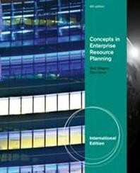 Concepts In Enterprise Resource Planning (Paperback)