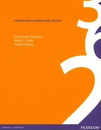Elementary Statistics(Pearson New Internatioanl Edition)