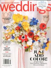 (여름) MARTHA STEWART WEDDINGS(USA)