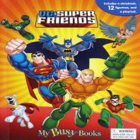 Dc Super Friends Busy Book 슈퍼맨 배트맨 플래시맨 비지북