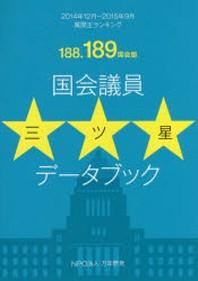 國會議員三ツ星デ-タブック 質問王ランキング 188.189國會版