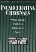 Incarcerating Criminals