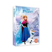 디즈니 겨울왕국 1 & 2 홀로그램 엽서북 30