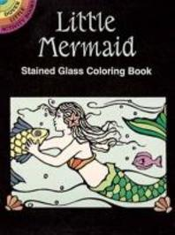 Little Mermaid Stained Glass Coloring Book