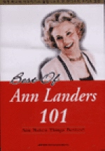 BEST OF ANN LANDERS 101(CASSETTE TAPE 3개포함)
