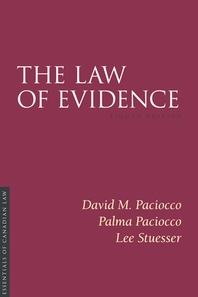The Law of Evidence, 8/E