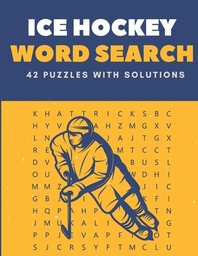 Ice Hockey Word Search 42 Puzzles With solutions