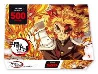 귀멸의 칼날 직소퍼즐 500조각 렌고쿠 화염