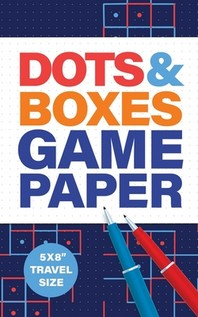 """Dots & Boxes Game Paper 5x8"""" Travel Size"""