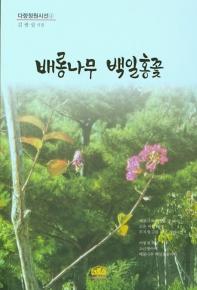 배롱나무 백일홍꽃