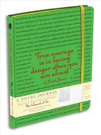 A Novel Journal : The Wizard of Oz (Yellow Green)