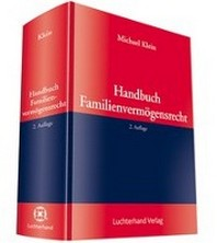 Handbuch Familienvermoegensrecht