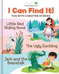 I Can Find It! Fun with 3 Bedtime Stories (Large Padded Board Book & 3 Downloadable Apps!)