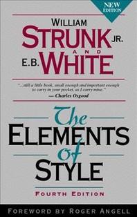 Elements of Style (H/C), 4/e, 4/E, 4/E, 4/E