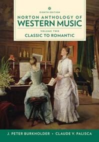 Norton Anthology of Western Music Vol. 2