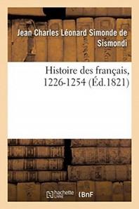 Histoire Des Francais, 1226-1254. Tome Vii