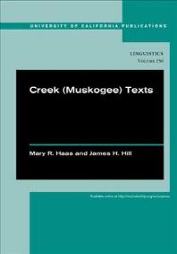 Creek (Muskogee) Texts, 150