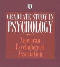 Graduate Study in Psychology 2017