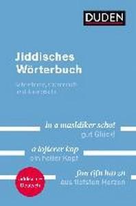 Duden - Jiddisches Woerterbuch
