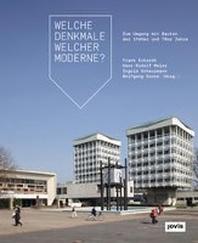 Welche Denkmale Welcher Moderne?