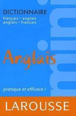 Mini Dictionnaire Francais Anglais / English French