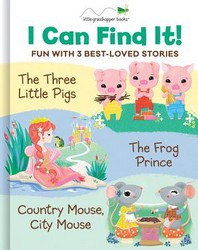 I Can Find It! Fun with 3 Best-Loved Stories (Large Padded Board Book & 3 Downloadable Apps!)