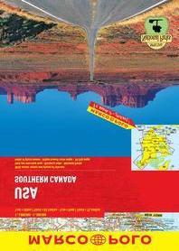 USA Southern Canada Marco Polo Road Atlas