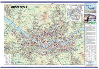 Map of Seoul(서울특별시)(영문)(코팅)(걸이용)(양면)