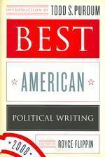 Best American Political Writing