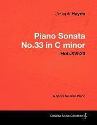 Joseph Haydn - Piano Sonata No.33 in C minor - Hob.XVI