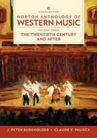 Norton Anthology of Western Music Vol. 3