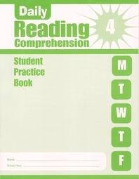 Daily Reading Comprehension Student Practice Book. 4