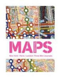 Paula Scher Maps New York/Paris/London