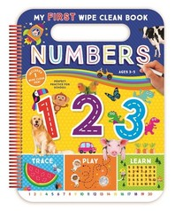 My First Numbers Wipe Off [With Pens/Pencils]