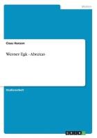 Werner Egk - Abraxas