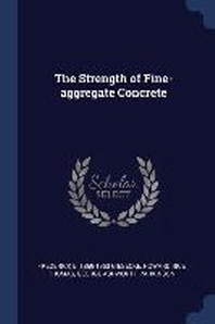 The Strength of Fine-Aggregate Concrete