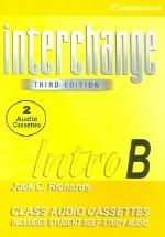 Interchange Intro B (Cassette Tape 2개)(3rd ed.)