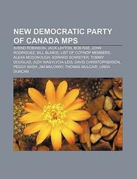 New Democratic Party of Canada Mps