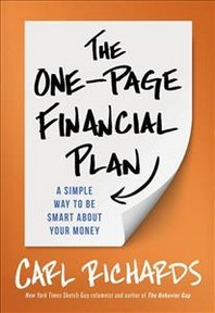 One-Page Financial Plan