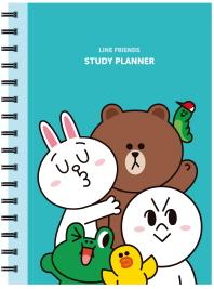 Line Friends Study Planner(라인 프렌즈 스터디 플래너)