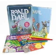 로알드달 원서 & 틴케이스 세트: Roald Dahl Book and Tin
