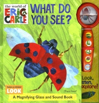 The World of Eric Carle: What Do You See?: Magnifying Glass and Sound Book Set